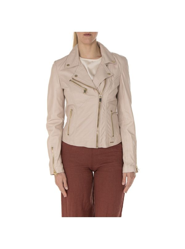 RINO&PELLE GHOST.300S21-300 CHIODO DONNA PELLE NUDE