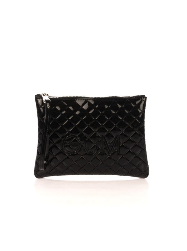 GUM BY GIANNI CHIARINI BUSTINA DONNA 4052QUILTED-9434 NERO