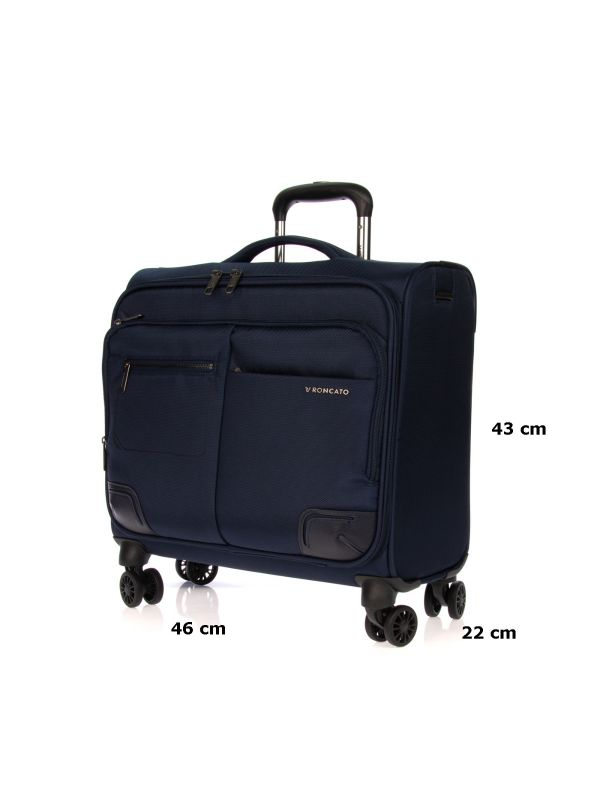 RONCATO TROLLEY PC WALL STREET 412158 23 BLU