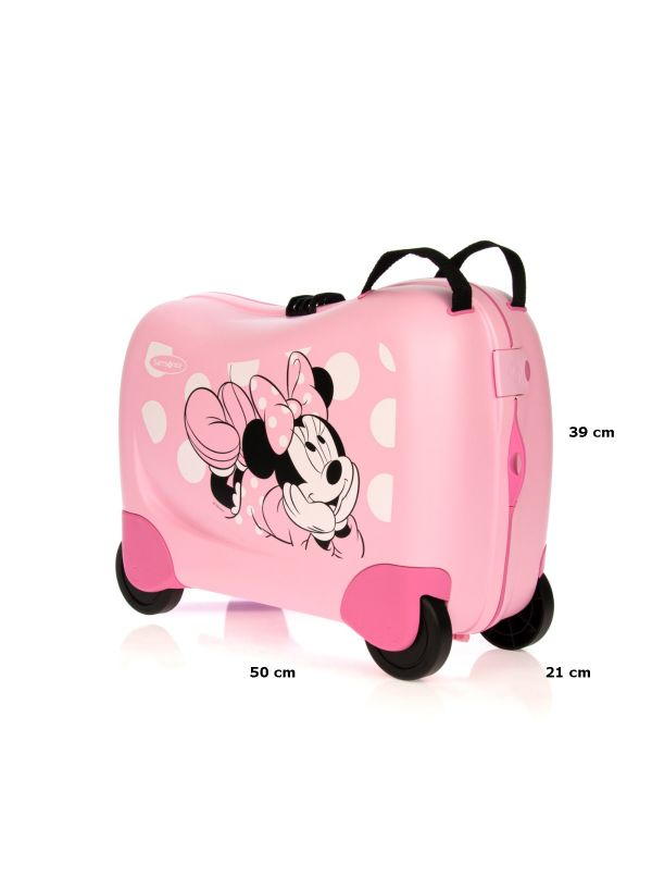 SAMSONITE BAGAGLIO A MANO BAMBINA DREAM RIDER DISNEY 43C001 90 MINNIE