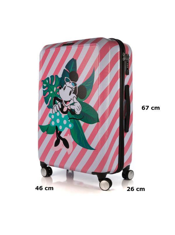 AMERICAN TOURISTER FUNLIGHT DISNEY 48C002-15 TROLLEY MINNIE