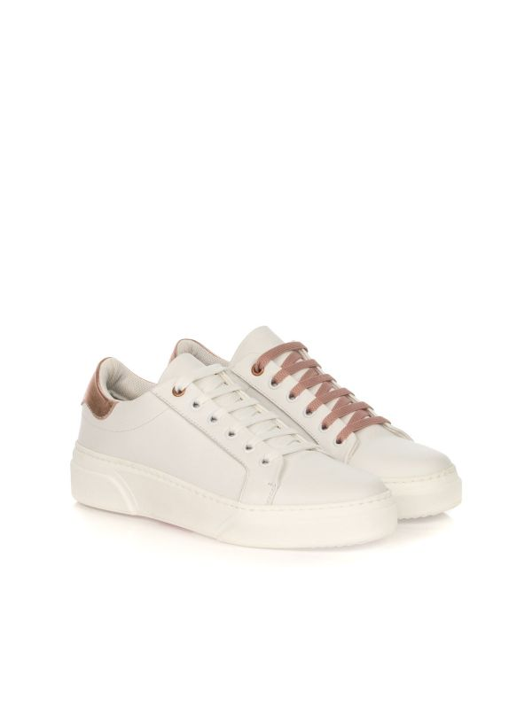 PETER LEGWOOD SNEAKERS DONNA ONE BIANCO-ROSA