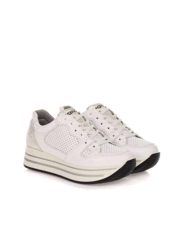 IGI & CO SNEAKERS DONNA 51656 11 BIANCO