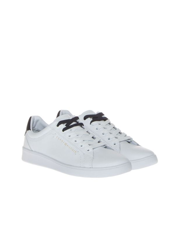 TOMMY HILFIGER FW0FW05547 SNEAKERS DONNA PREMIUM BIANCO
