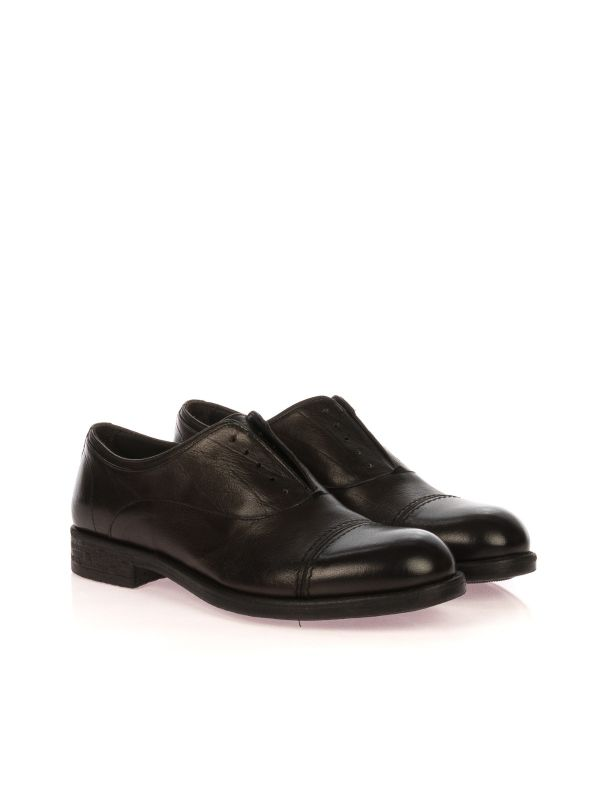 FRANCO FEDELE 6342 SCARPA SLIP-ON UOMO PELLE MARRONE