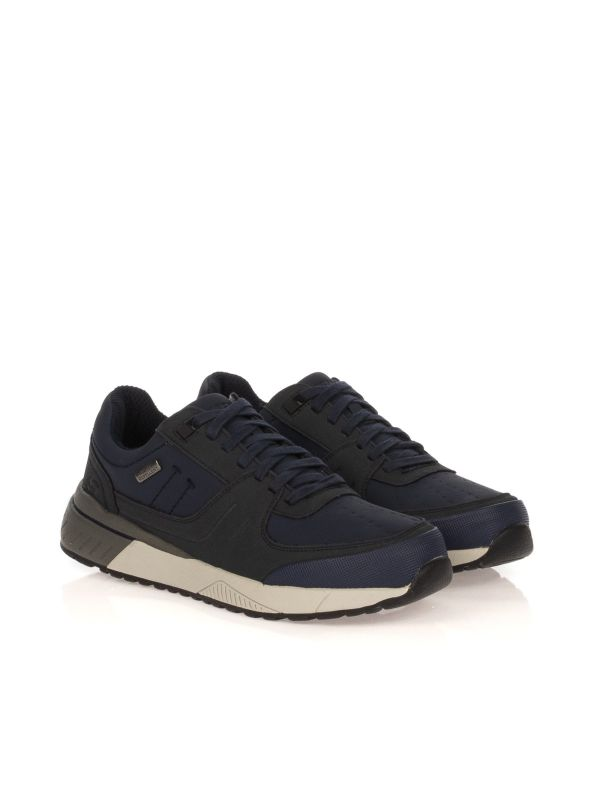 SKECHERS SNEAKERS UOMO 66398 NAVY WATERPROOF