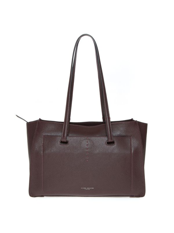 GIANNI CHIARINI SHOPPING BAG DONNA 8060GRN ROVERE