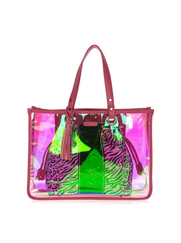PASH BAG BY L'ATELIER DU SAC BORSA MARE DONNA 9806 DAIQUIRI ROSA