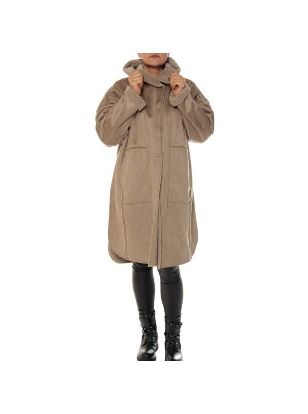 BACKGROUND CAPPOTTO DONNA A20YW107D ABEL BEIGE