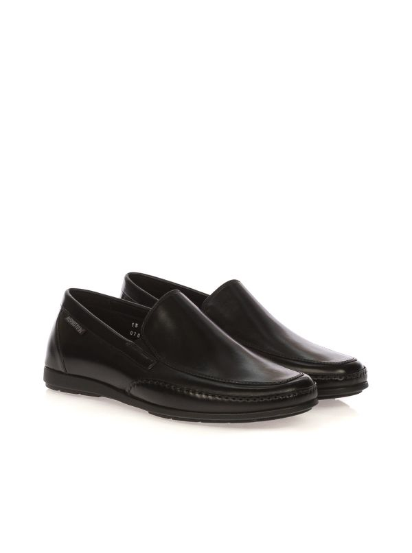 MEPHISTO ANDREAS SLIP-ON MOCASSINO UOMO PELLE NERO