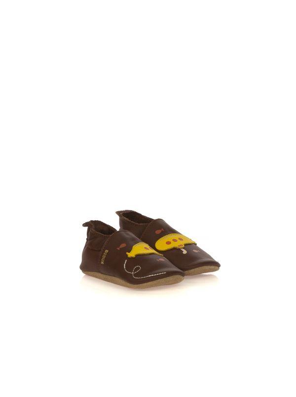 BOBUX SOFT SOLES 00514 SOTTOMARINO PELLE MARRONE