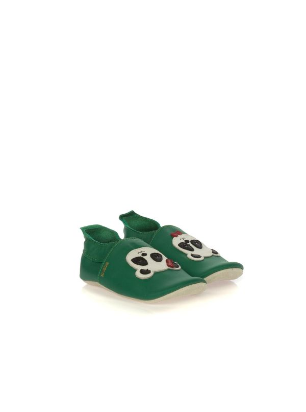 BOBUX SOFT SOLES 01407 PANDA PELLE VERDE SMERALDO