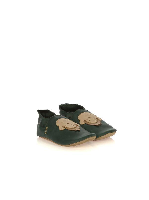 BOBUX SOFT SOLES 01918 SCIMMIA PELLE VERDE