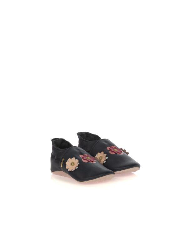 BOBUX SOFT SOLES 03701 PELLE BLU FIORI