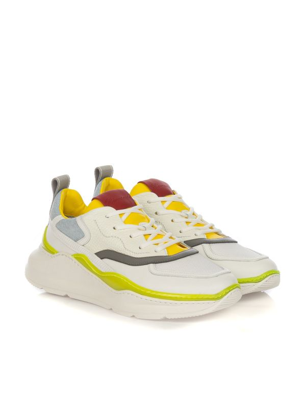 BARRACUDA SNEAKERS UOMO BU3238 BIANCO MULTICOLOR