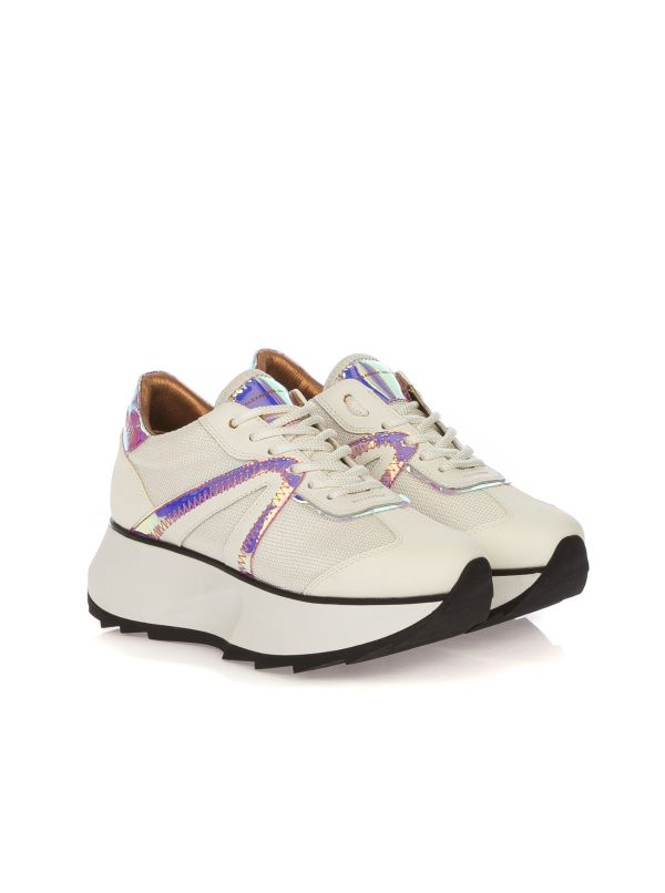 ALEXANDER SMITH SNEAKERS DONNA C80622 BIANCO