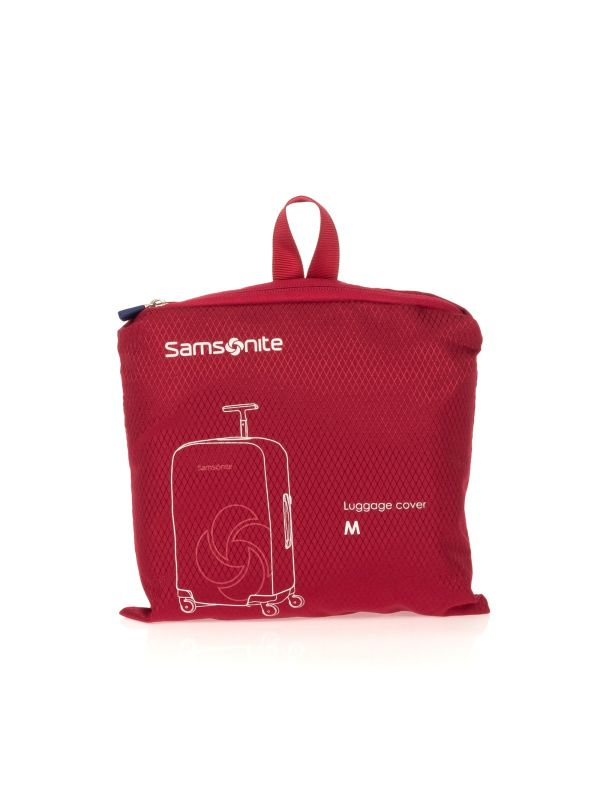 SAMSONITE COVER VALIGIA GLOBAL TA CO1010 00 ROSSO MEDIUM