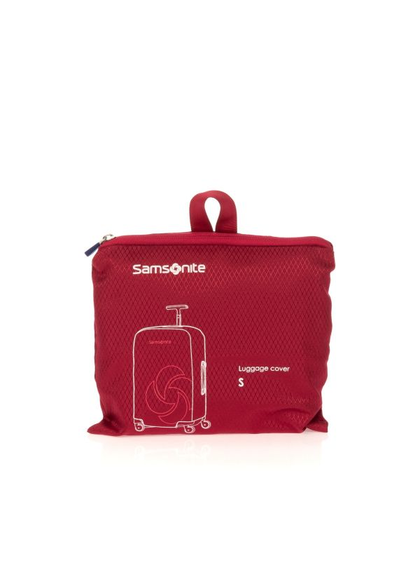 SAMSONITE COVER VALIGIA GLOBAL TA CO1011 00 ROSSO SMALL