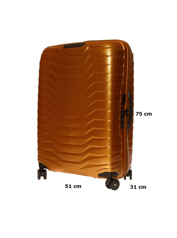 SAMSONITE TROLLEY MEDIO-GRANDE CW6003-6 PROXIS HONEY GOLD