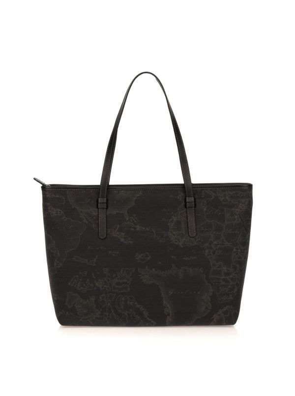 ALVIERO MARTINI 1^ CLASSE SHOPPING BAG D0076426 01 GEO BLACK