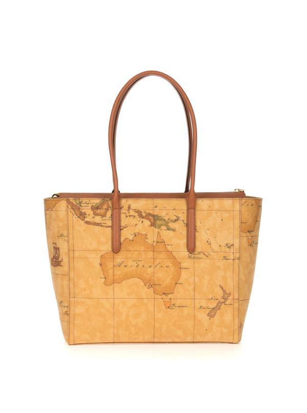 ALVIERO MARTINI 1^CLASSE SHOPPING BAG DONNA D0856000-010 GEO CLASSIC