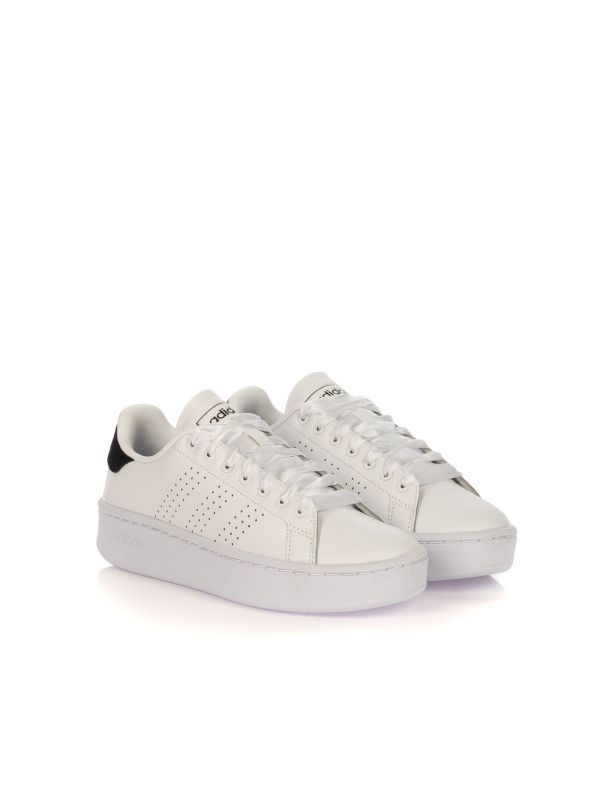 ADIDAS SNEAKERS DONNA STAN SMITH EF1034 BIANCO TALLONE NERO