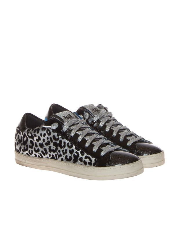 P448 SNEAKERS DONNA F21JOHNBS-W ANIMALIER