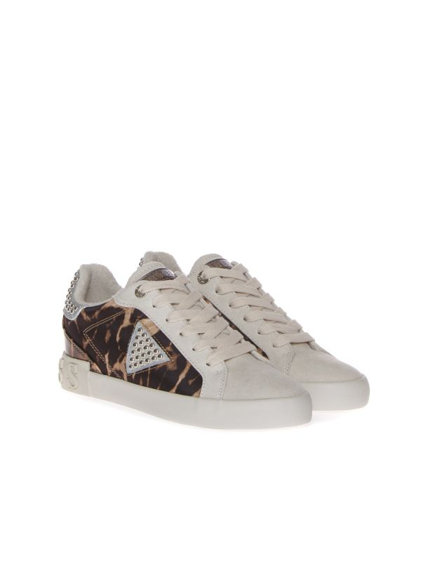 GUESS SNEAKERS DONNA FL7PA5FAP12 ANIMALIER