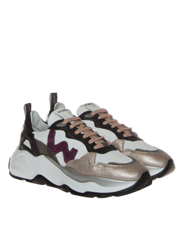WOMSH SNEAKERS DONNA FU007 MULTICOLOR