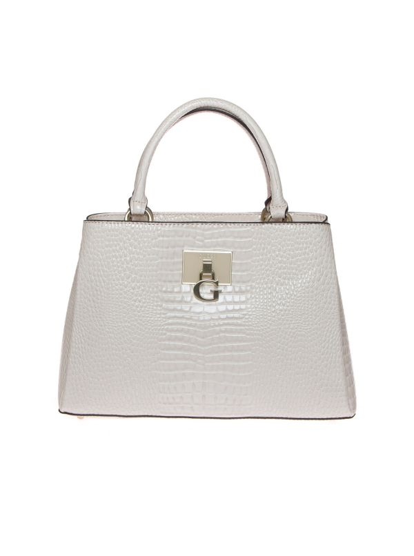 GUESS BORSA A MANO DONNA HWCS7972060 CARABEL COCCO STONE