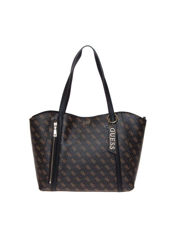 GUESS SHOPPING BAG DONNA HWQL7881230 NAJA LOGATO TESTA DI MORO