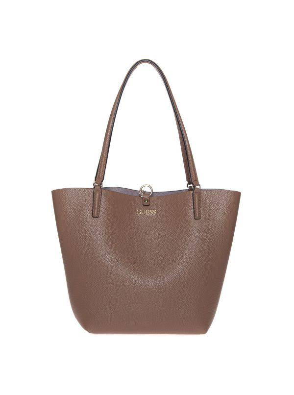 GUESS SHOPPING BAG HWVG7455230 ALBI MOCHA