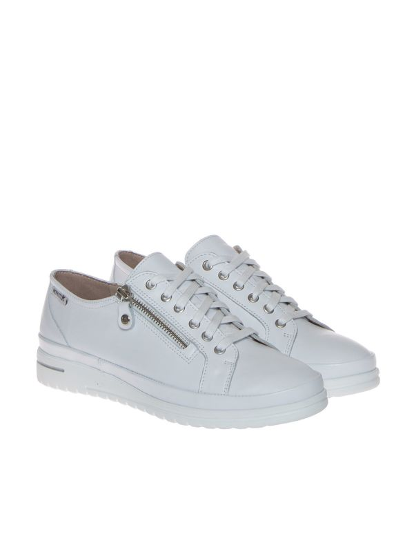 MEPHISTO JUNE SOFTY 1230 SNEAKERS DONNA PELLE BIANCA