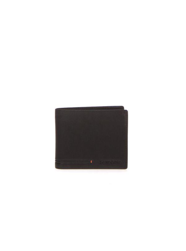 SAMSONITE PORTAFOGLIO UOMO KE8001 SIMPLA NERO