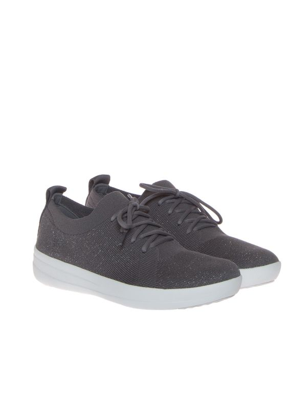 FITFLOP F-SPORTY SNEAKERS DONNA TESSUTO GRIGIA