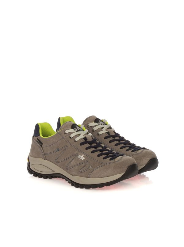LOMER JANKO 70005B SNEAKER TREKKING CASUAL DONNA CAMOSCIO TAUPE