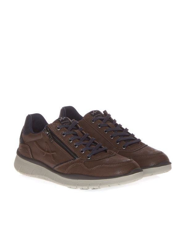 ALLROUNDER by MEPHISTO SNEAKERS CASUAL UOMO MAJESTRO MARRONE