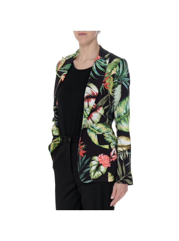 MARKUP MW967106 BLAZER DONNA NERO JUNGLE