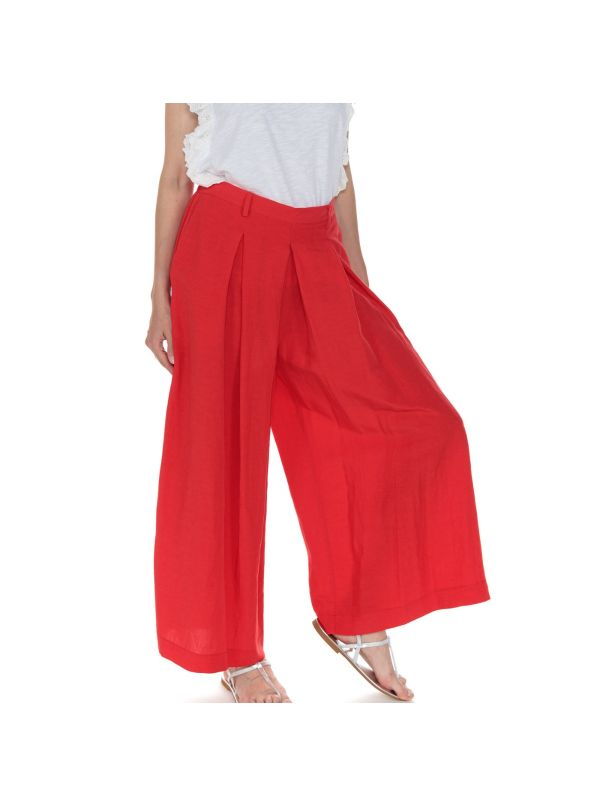 BACKGROUND PANTALONE DONNA P21YW224D0444 ANNA ROSSO