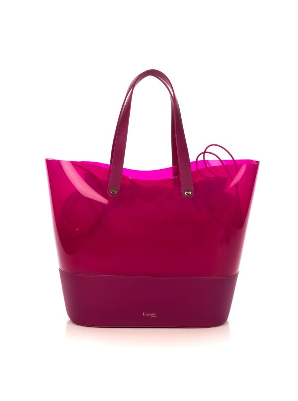LIPAULT SHOPPING BAG DONNA P80002-55 POP'N'GUM CILIEGIA