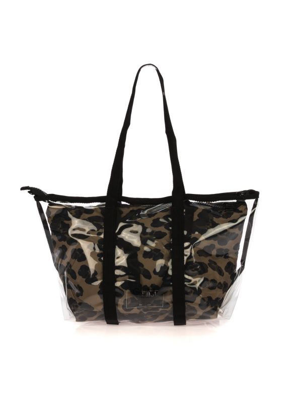 GUM BY GIANNI CHIARINI SHOPPING BAG DONNA 0360-SMALL LEOPARDATO