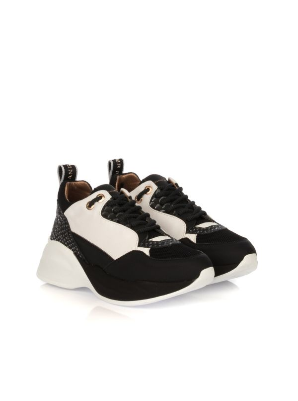 ALEXANDER SMITH SNEAKERS DONNA SP73296-WHSIL BIANCO-NERO