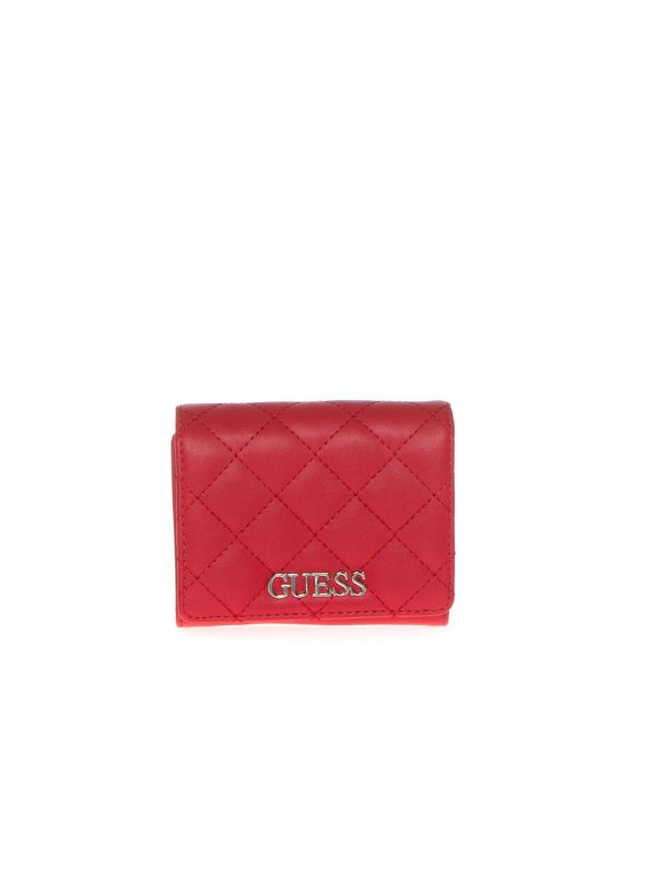 GUESS PORTAFOGLIO DONNA SWVG7970430 ILLY ROSSO