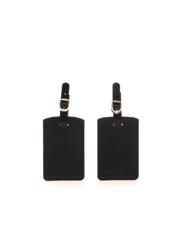 SAMSONITE ACCESSORIO VALIGIA RECT. BAG TAG U23205 09 NERO