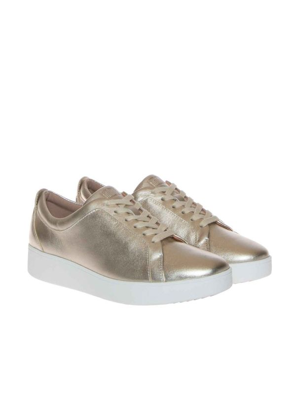 FITFLOP RALLY X22-675-030 SNEAKERS DONNA PLATINO