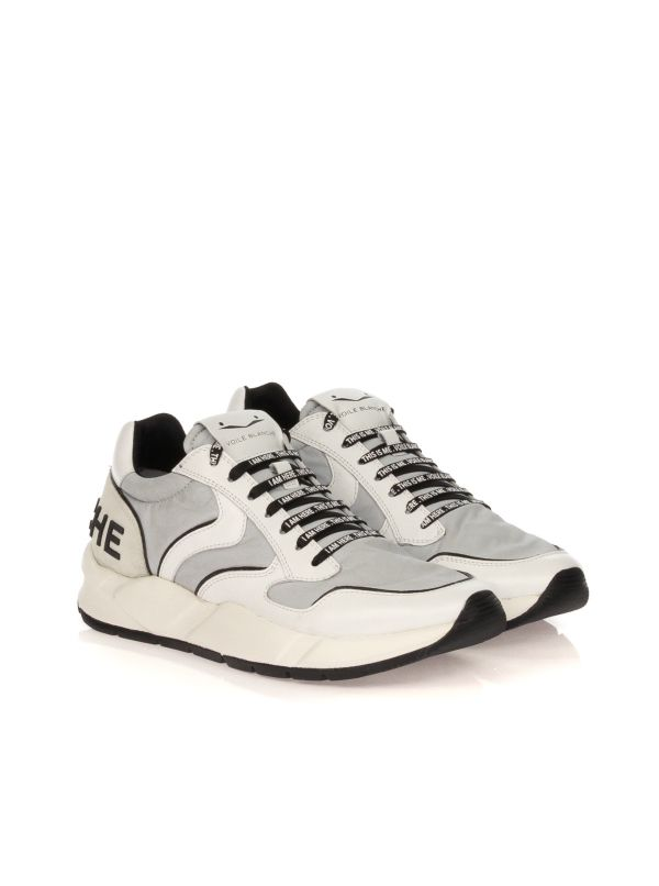 VOILE BLANCHE SNEAKERS UOMO ARPOLH BIANCO